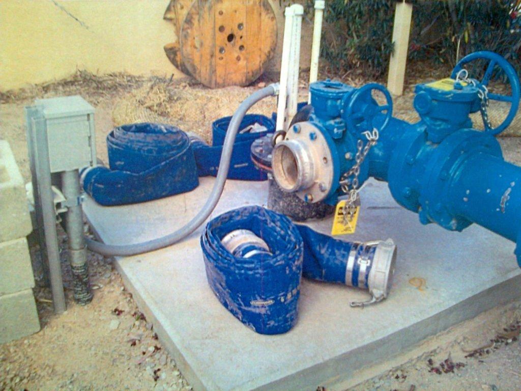 "Metro Water District Tucson 6265 N. La Canada Blvd. Tucson, AZ 85704 De Concini Site May 2012 Photo Evidence Disclosure - ""site of failed pump efficiency test incident"""